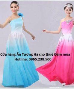 Đầm múa biểu diễn