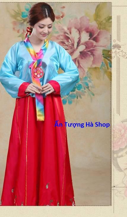 Hanbok nữ vạt ngắn