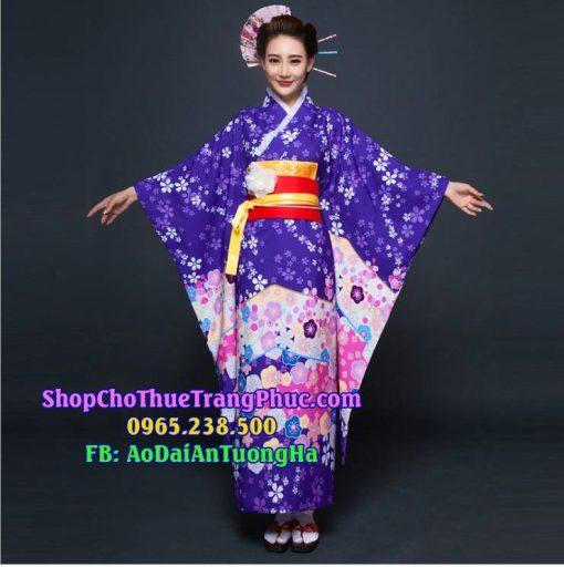 Kimono Yukata Cao cấp