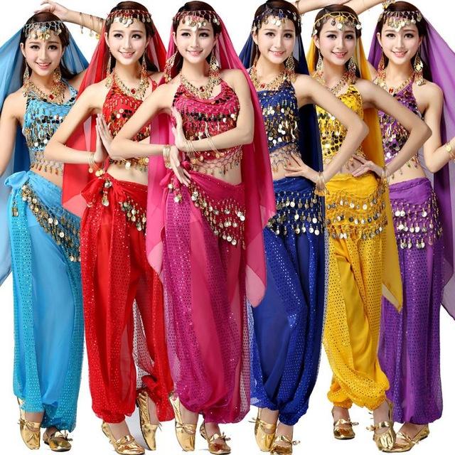 cho thuê trang phục biểu diễn Ấn Độ 4